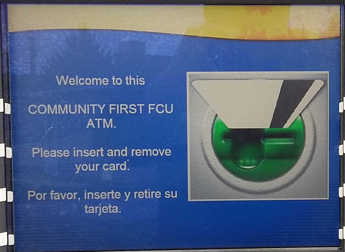 Welcome to CFFCU ATM