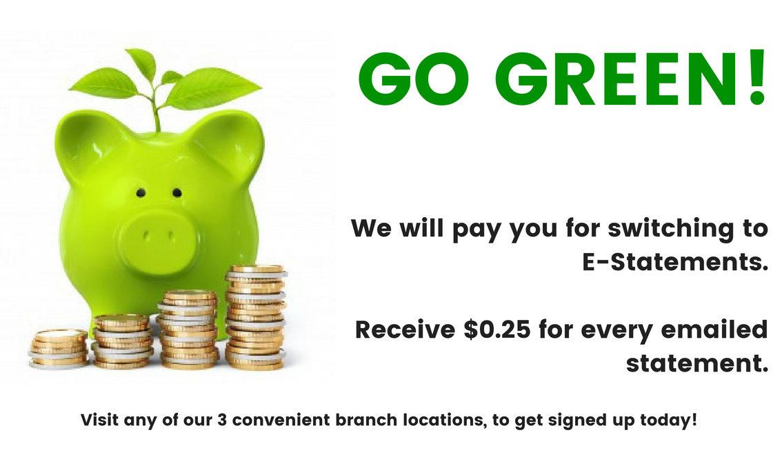 Go Green With Estatements